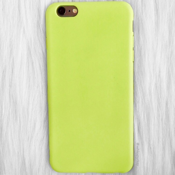 quality design f51ee 7564d Neon Key Lime green iPhone 6 Plus phone case Boutique